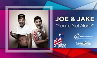 "UK 2016: Reino Unido elige a JOE & JAKE con ""YOU'RE NOT ALONE"""