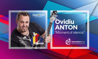 "RUMANIA 2016: OVIDIU ANTON interpretará el tema ""MOMENT OF SILENCE"""