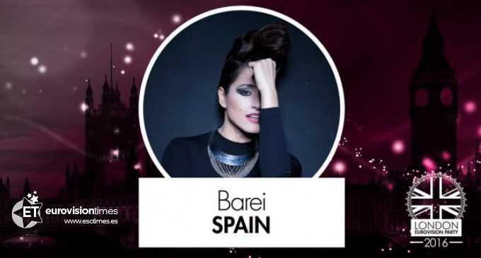 BAREI en la LONDON EUROVISION PARTY 2016