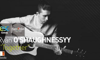 Se presenta la canción irlandesa TOGETHER que defenderá Ryan O'Shaughnessy