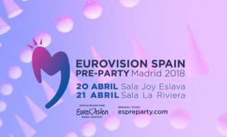 En marcha la Eurovision SPAIN PreParty Madrid 2018