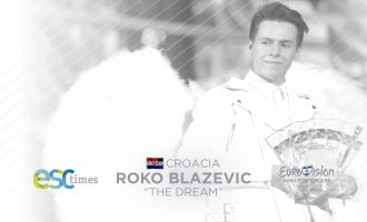 "Roko Blazevic representa a Croacia en ESC2019 con el tema ""THE DREAM"""