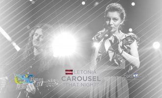 "Carousel representa a Letonia en ESC2019 con la canción ""THAT NIGHT"""