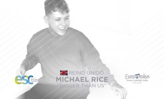 "Michael Rice representa a UK en Eurovisión 2019 con ""BIGGER THAN US"""